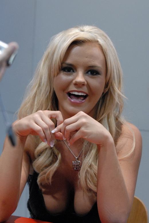 Bree Olson bei der Adult Entertainment Expo 2008
