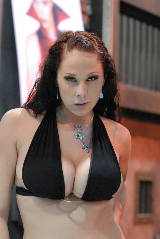 Gianna Michaels auf der Adult Entertainment Expo 2008.