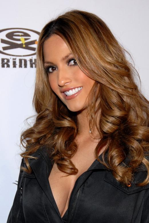 Heidi Cortez auf einer Party in Hollywood im Dezember 2007.