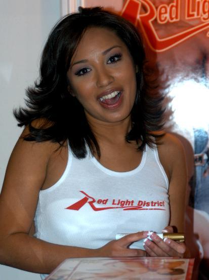 Jasmine Byrne, auf der AVN Expo 2005.
