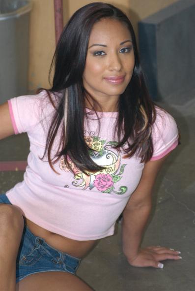 """Jasmine Byrne am Set von """"Britney Rears III"""" im Mai 2006."""