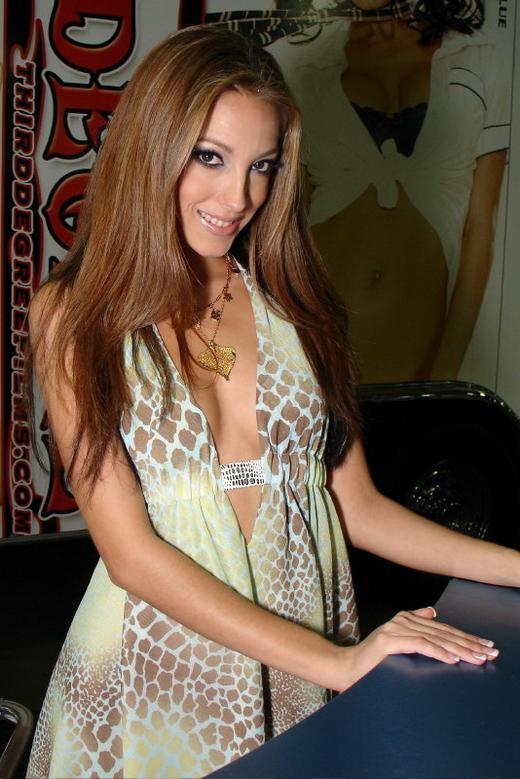 Erotik-Darstellerin Jenna Haze.