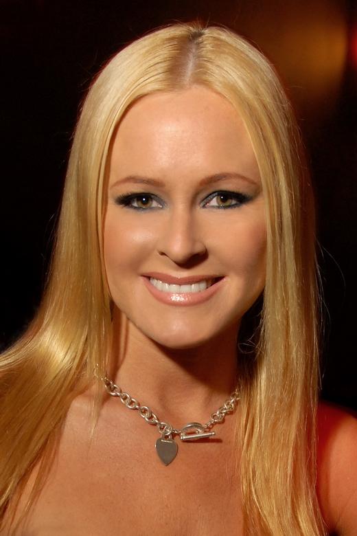 Katie Lohmann auf einer Party im Mai 2009.