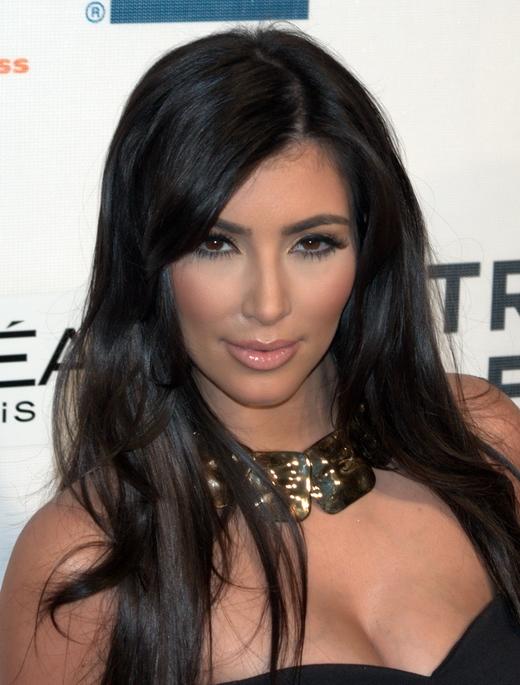 Kim Kardashian beim Tribeca Film Festival 2009.