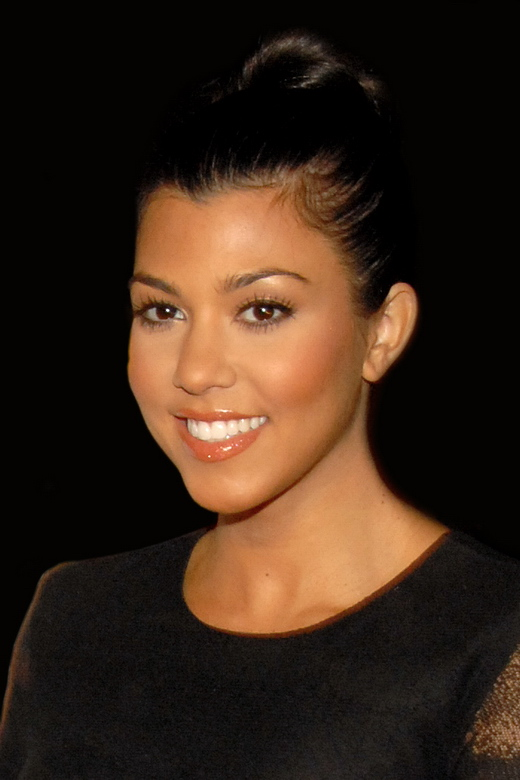 "Kourtney Kardashian bei der ""Hot 100 Celebration"" des Maxim-Magazins im Mai 2009."