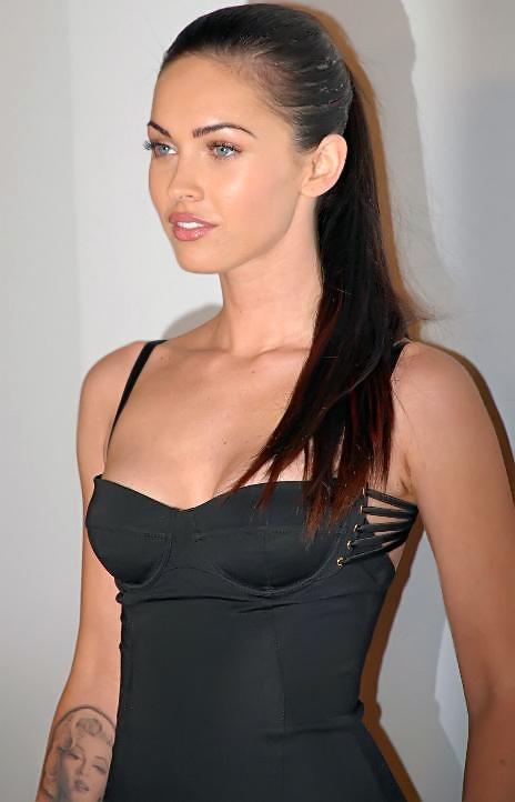 Megan Fox auf einer Veranstaltung in Hollywood.