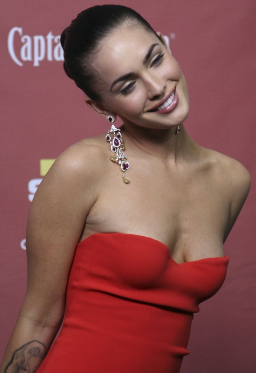 Megan Fox 2007 bei den Spike TV Scream Awards.